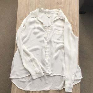 Silence and Noise White Blouse